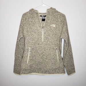 North Face Women's 1/4 Zip Pullover Hoodie Fleece